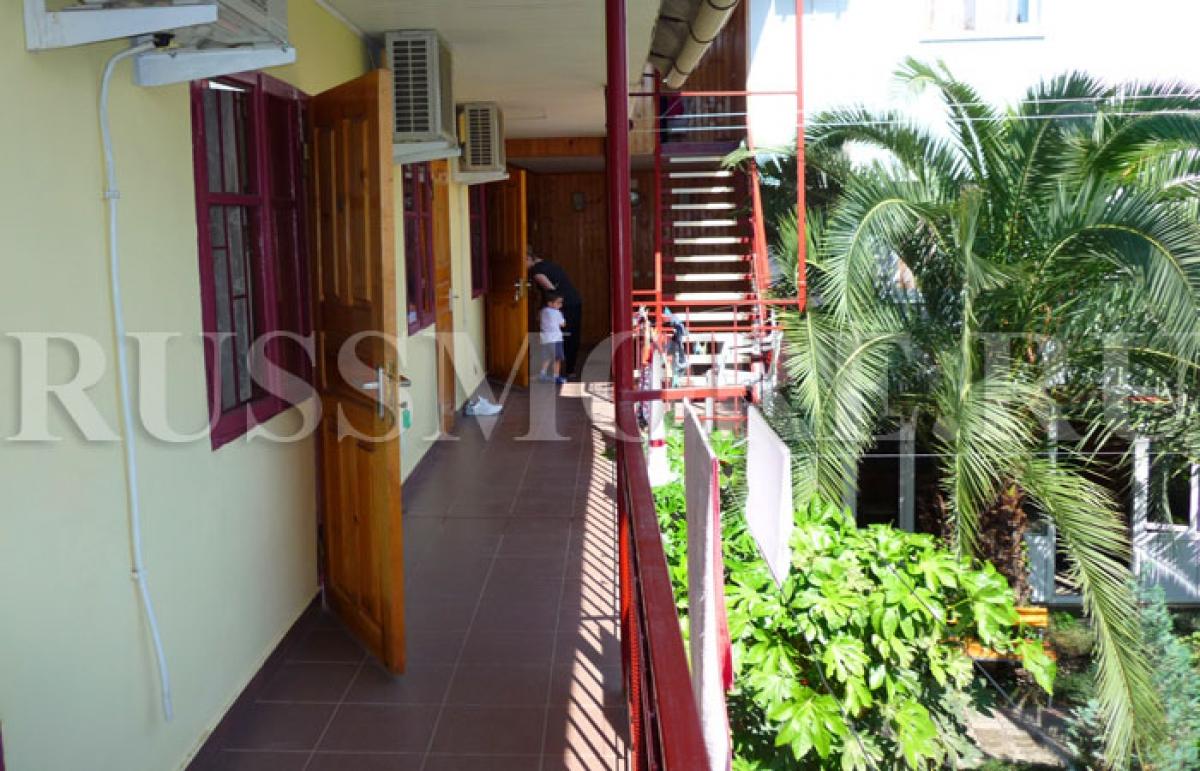 Гостевой дом Артур, Адлер - балкон