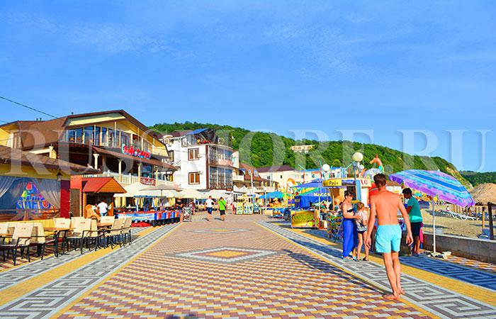 новомихайловский фото пляжей и набережной 2017